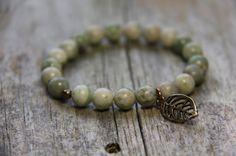 Mother Earth bracelet by Wanderbird. Made with Lapis Nevada Mother Earth, Nevada, Beaded Bracelets, Shopping, Jewelry, Jewlery, Bijoux, Pearl Bracelets, Schmuck