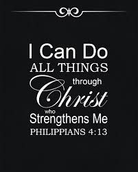 Philippians 4:13 - I can do all things through Him who strengthens me. Bible Verse Art, Prayer Scriptures, Faith Prayer, Bible Quotes, Bible Study Plans, New American Standard Bible, Philippians 4 13, I Can Do Anything, Frases