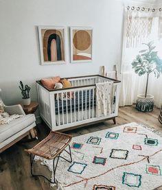 New Baby Bedroom Organization Cribs 50 Ideas Boho Nursery, Nursery Neutral, Girl Nursery, Nursery Decor, Nursery Themes, Nursery Room Ideas, Playroom Decor, Decor Room, Bedroom Ideas
