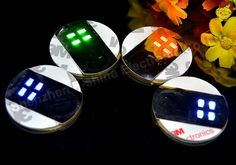 Ultra Thin Bar Cup LED Flashing Lights Bottle Sticker Party Light Up Wine Mat for Beauty
