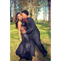 black prom couples - Google Search