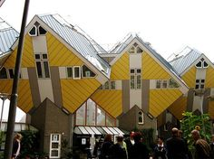 - Rotterdam, kubuswoningen