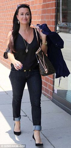 Love this top Kyle Richards has on