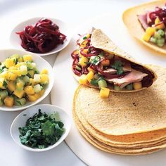 Tuna Tacos with Onions | To accompany his fresh tuna tacos, chef ...