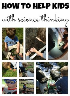 How to help kids with scientific thinking