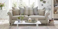 Introducing our brand new sofa, the Country Living Morland with DFS Sofa Styling, Country Sofas, Dining Room Cozy, Classic Sofa, Classic Sofa Living Room, Sitting Room Design, Beige Living Rooms, Farm House Living Room, Country Style Living Room