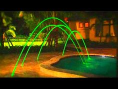 These green pool fountain lights give me a kreepy krawly sorta feeling.   Reshare if you agree.  Clean your #strange new pool with this killer #vacuum http://trashorshare.com/creepy-crawly-pool-cleaner/  #poollights #green #swimmingpool #automaticcleaner #kreepykrawly #fountain #weird #unique #crazy #wow #amazing #luxury