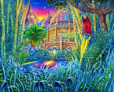 "Art of the day: """"Maison De'Ete""  by John Lawton Cullison, Jr."""