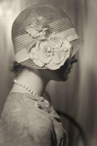1920's cloche #celebstylewed #wedding #bridal #nuptials #matrimony