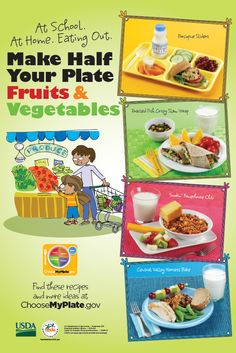 #MyPlate is for kids too! Click here for health & nutrition information for children over 5.