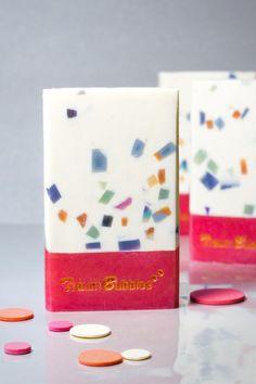 Bubbles - confetti soap