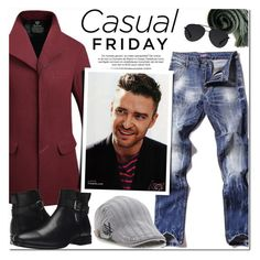 """""""Justin Timberlake"""" by oshint ❤ liked on Polyvore featuring Aquatalia by Marvin K., Bally, vintage, men's fashion and menswear"""