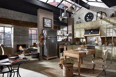Современные стили оформления интерьера кухни