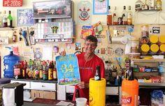 Bar do Pedrinho, 34 anos. Foto: Rogério de Moura