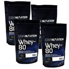Whey-80 Mix&Match, 4x1kg Mix Match, Matcha, Drink Sleeves