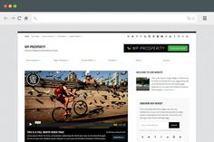 WP-Prosperity Version 2.0 - Premium Responsive WordPress Theme