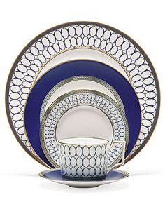 Wedgwood Dinnerware, Renaissance Gold Collection - Fine China - Dining & Entertaining - Macys Bridal and Wedding Registry #macysdreamfund