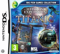 Hidden Expedition - Titanic  Hidden Expedition: Titanic is een zoek-en-vindpuzzelavontuur voor de bezitters van een Nintendo DS. Puzzelaars met een zwak voor historie komen helemaal aan hun trekken wanneer zij onder water zoeken in het wrak van de Titanic.
