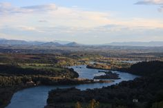 Great view of the Tiber Valley in low Sabina. By matteopaoletti