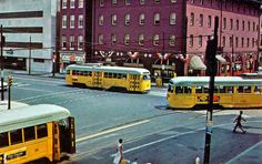Baltimore Street Cars. Dad talked about riding these for hours as a child.