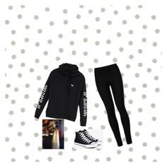 """"""""""" by amnavore on Polyvore featuring beauty, Lilly Pulitzer, Victoria's Secret, Wolford and Converse"""