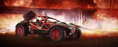 This fan-art project re-imagines horror characters as famous cars. They include a Xenomorph as a Tesla Model X and Freddy Krueger as an Ariel Nomad. Horror Villains, Horror Movie Characters, Horror Movies, Tesla Model X, Wedding Scene, Xenomorph, Nightmare On Elm Street, Freddy Krueger, Antique Cars