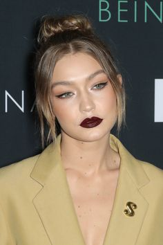 Gigi Hadid attends the Premiere of HBO's Documentary Being Serena at the Time Warner Center in NYC