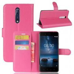 Nokia 8 pinkki puhelinlompakko.
