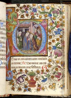 Book of Hours, MS M.56 fol. 36r - Images from Medieval and Renaissance Manuscripts - The Morgan Library & Museum