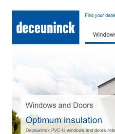 Deceuninck - Customer Website Support