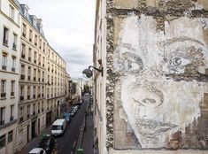 Alexandre Farto, aka Vhils, is known for unleashing graffiti art and works of creative destruction on the streets of Lisbon.
