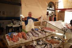 Fish for sale in Marsala, Sicily