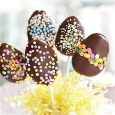 Chocolate Peanut Butter Easter Eggs from Jif®