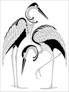 Motif No 100 stencil from The Stencil Library ART DECO range. Buy stencils online. Stencil code DE351.