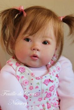 Feuille de Cerise Nursery - reborn girl toddler doll Kana by Ping Lau poupée | eBay