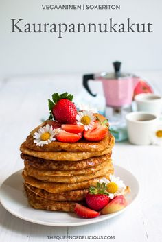 - The Queen of Delicious Breakfast Snacks, Best Breakfast, Vegan Baking, Healthy Treats, Healthy Food, Something Sweet, Let Them Eat Cake, Brunch Recipes, Food Inspiration
