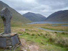 Doo Lough Valley in Ireland where a lot of people died during the famine.