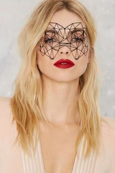 Bijoux Indiscrets Kristine Eye Mask - Valentine's Day