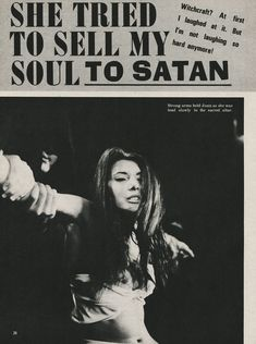 She tried to sell my soul to Satan - Vintage