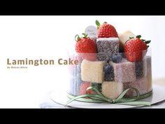래밍턴 케이크 만들기 ( Lamington Cake ) - 메종올리비아 - YouTube Drip Cakes, Let Them Eat Cake, Cake Decorating, Baking, Breakfast, Sweet, Desserts, Sewing Ideas, Cupcake
