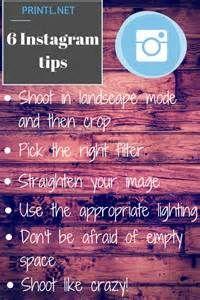 6 Instagram Tips