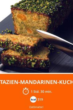 Super saftiger Pistazien-Mandarinen-Kuchen