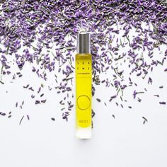 Rest Aromatherapy Perfume helps with relaxing, restoring energy & finding a place of comfort, support & allows feelings of inner courage & self-expression