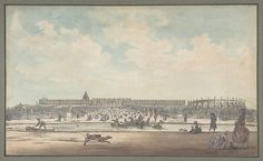 Louis Nicolas de Lespinasse, called the Chevalier de Lespinasse (French, 1734–1808). The Château de Versailles Seen from the Gardens, 1779. The Metropolitan Museum of Art, New York. Bequest of Susan Dwight Bliss, 1966 (67.55.20)