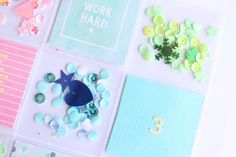 clear colours: Reto Kimidori: Confetti