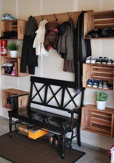 crate storage garage