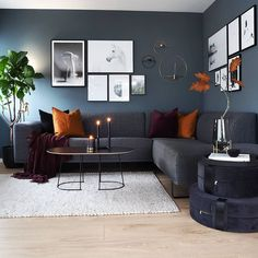 The gorgeous living room of 👈🏻 Ferm Living Balance candle holder is available in our sale ✨ . Modern Contemporary Living Room, Living Room Modern, Interior Design Living Room, Living Room Designs, Interior Livingroom, Cozy Living, Living Room Grey, Home Living Room, Living Room Decor