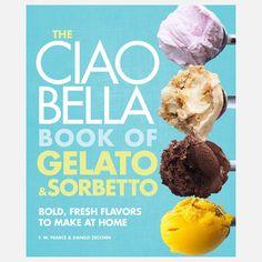 Fab.com | Ciao Bella Book Gelato Sorbetto