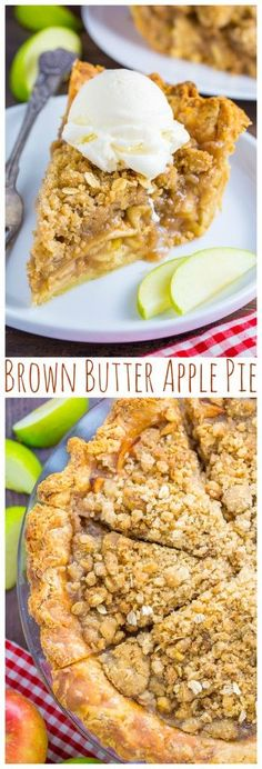 recipe: crustless apple pie with crumb topping [24]