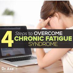 4 Steps to Overcome Chronic Fatigue Syndrome http://www.draxe.com #health #holistic #natural